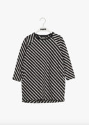 Stripe-tunika, black/sand