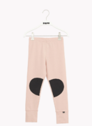 Papu Patch leggingsit, Dusty Pink/Black