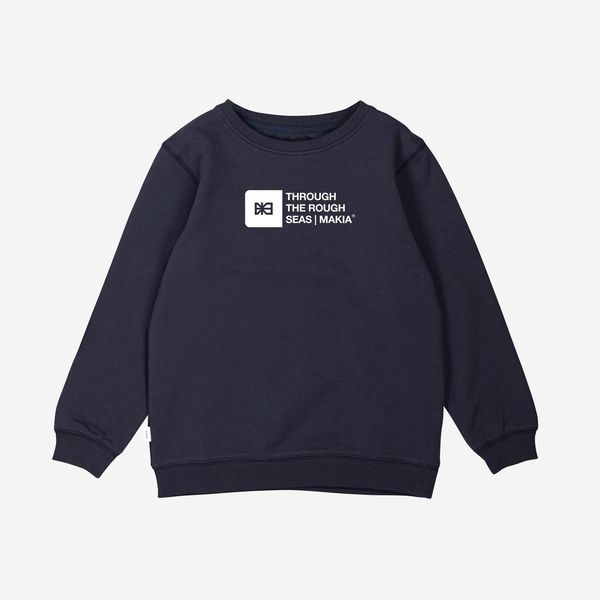 Flint Sweatshirt Dark Blue, Makia